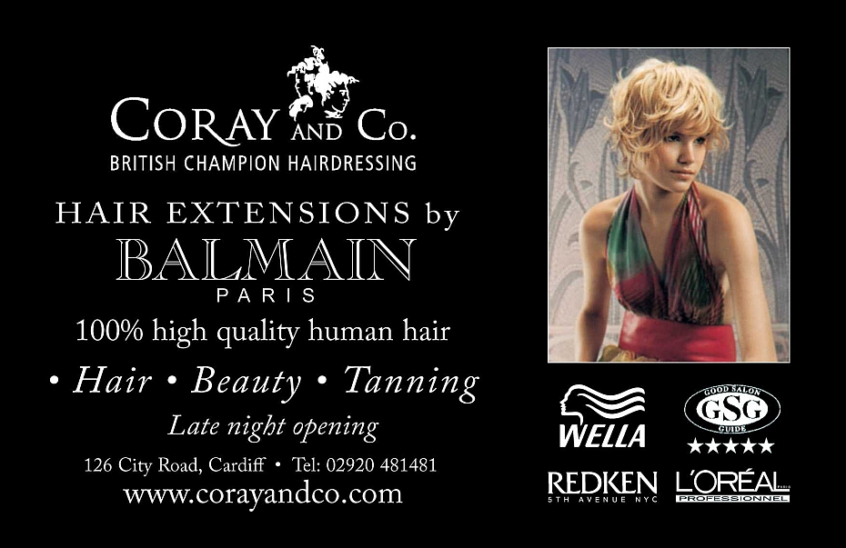 Hair Extensions by Balmain at Coray and Co.